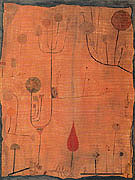 Fruitrs on Red 1930 - Paul Klee