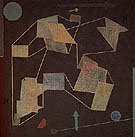 Uplift and Direction Glider Flight 1932 - Paul Klee