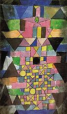Architectural Script 1918 - Paul Klee