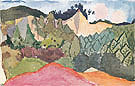 In the Quarry 1913 - Paul Klee