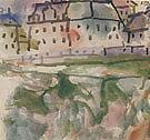 Houses Near Stony Ground 1913 - Paul Klee