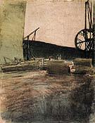 Quarry at Ostermundigen Two Cranes 1907 - Paul Klee