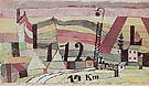 Station L122 14k 1920 - Paul Klee