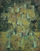 The God of the Northern Forest 1922 - Paul Klee