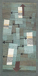 Wavering Balance 1922 - Paul Klee