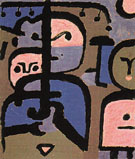 Three Exotic Youths 1938 - Paul Klee