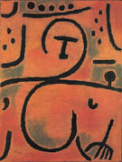 Decadent Pomona Slighty Reclined 1938 - Paul Klee