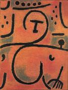 Decadent Pomona Slighty Reclined 1938 - Paul Klee