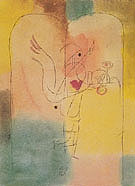 Genie Serving a Light Breakfast 1920 - Paul Klee