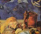 Clovis Sleeping 1884 - Paul Gauguin