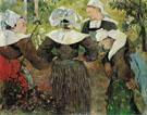 Four Breton Woman 1886 - Paul Gauguin