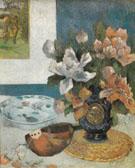 Still Life with Mandoline 1885 - Paul Gauguin
