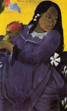 Woman with a Mango 1892 - Paul Gauguin