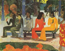 We Shall Not Go to Market 1892 - Paul Gauguin