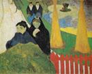 Woman from Arles in the Public Garden Mistral 1888 - Paul Gauguin