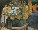 Sunflowers on a Chair 1901 - Paul Gauguin