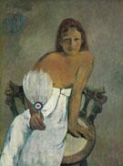 Woman with a Fan 1902 - Paul Gauguin