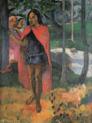 Marquesan with Red Hat 1902 - Paul Gauguin