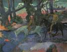 Ford Running Away 1901 - Paul Gauguin
