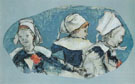 Breton Girls Dancing 1888 - Paul Gauguin