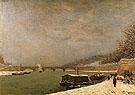 The Seine near the Jena Bridge 1875 - Paul Gauguin