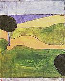Invented Landscape 1977 - Richard Diebenkorn