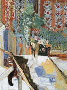 Interior with Flowers 1919 - Pierre Bonnard