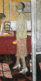 Marthe in the Dining Room 1933 - Pierre Bonnard
