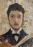 Self Portrait 1889 - Pierre Bonnard