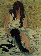 Woman Pulling on Her Stockings 1893 - Pierre Bonnard