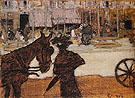 The Cap Horse 1895 - Pierre Bonnard