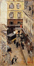 Narrow Street in Paris 1897 - Pierre Bonnard