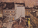 Montmartre in the Rain 1897 - Pierre Bonnard