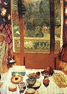 The Dining Room Overlooking the Garden 1930 - Pierre Bonnard