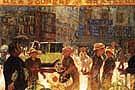The Place Clichy - Pierre Bonnard