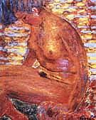 Dark Nude 1939 - Pierre Bonnard