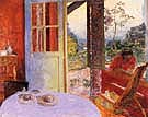 Dining Room in the Country 1913 - Pierre Bonnard