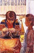 The Lesson - Pierre Bonnard