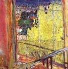 Studio with Mimosas 1938 - Pierre Bonnard