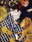 Woman with Dog 1891 - Pierre Bonnard