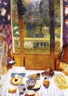 The Breakfast Room 1930 - Pierre Bonnard