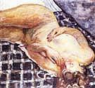 Reclining Nude 1909 - Pierre Bonnard