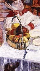 Woman with Besket of Fruit 1915 - Pierre Bonnard