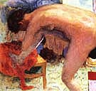 Nude Right Leg Raised 1924 - Pierre Bonnard
