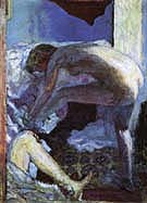 Large Nude in Blue 1924 - Pierre Bonnard