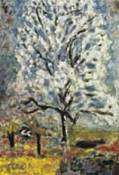 Blossoming Almond Tree c1946 - Pierre Bonnard
