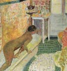 Getting Out of the Bath c1930 - Pierre Bonnard