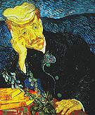 Portrait of Dr Gachet 1890 - Vincent van Gogh