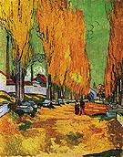 Les Alyscamps 1888 - Vincent van Gogh