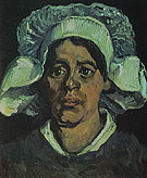 Peasant Woman Portrait of Gordina de groot 1881 - Vincent van Gogh